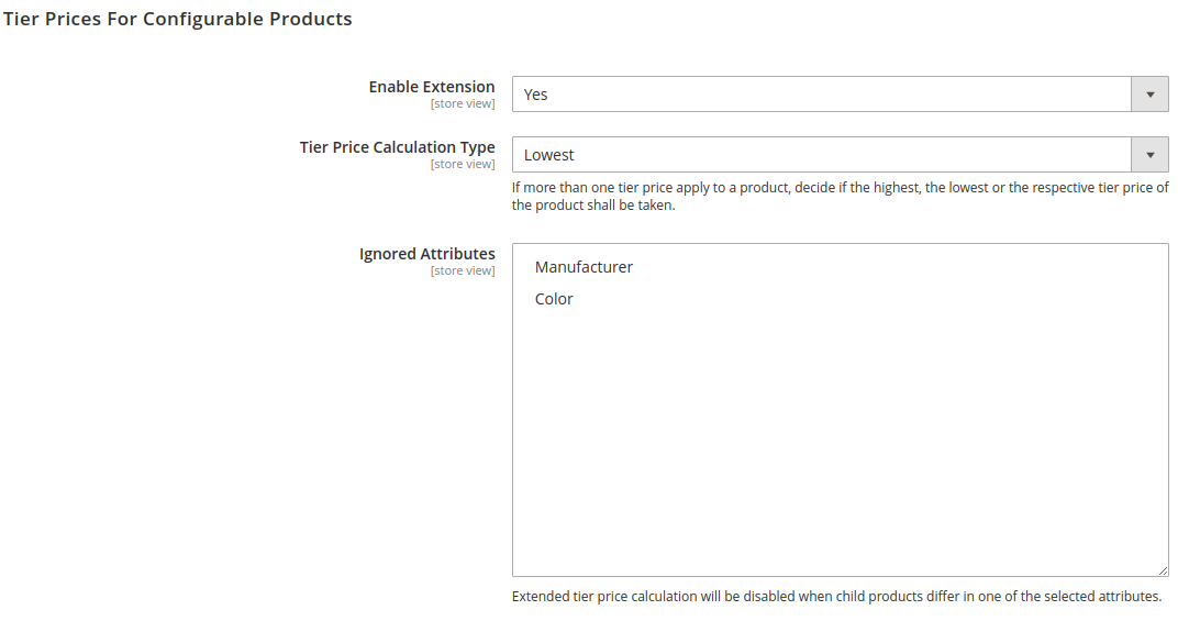 Configure Tier Prices For Configurable Products